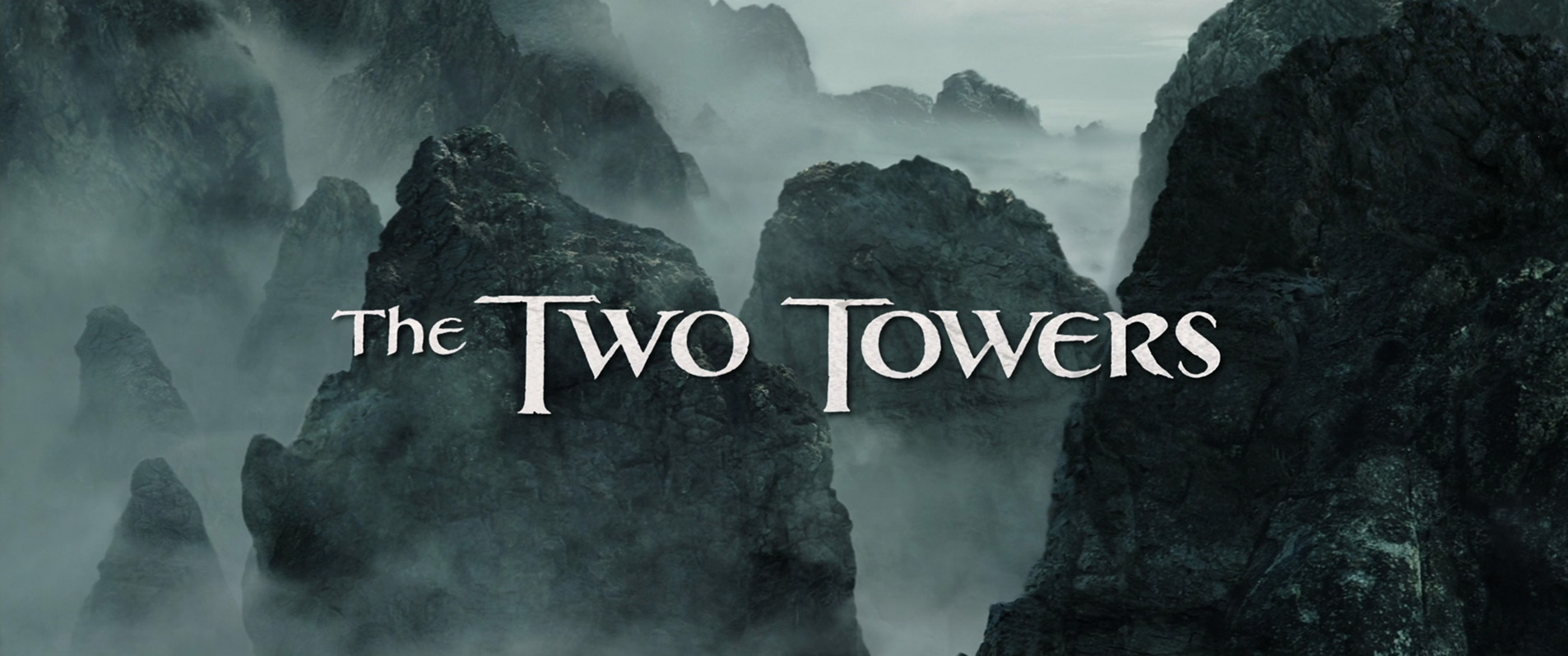 Movie title capture for The Lord of the Rings: The Two Towers